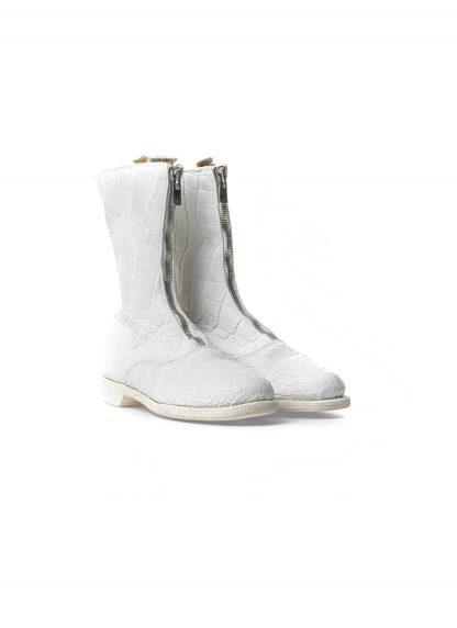 Guidi women front zip army boot damen schuh stiefel 310 crocodile leather white CO00T hide m 4