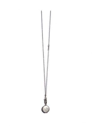 werkstatt munchen m3841 necklace kette medallion 925 sterling silver hide m 1