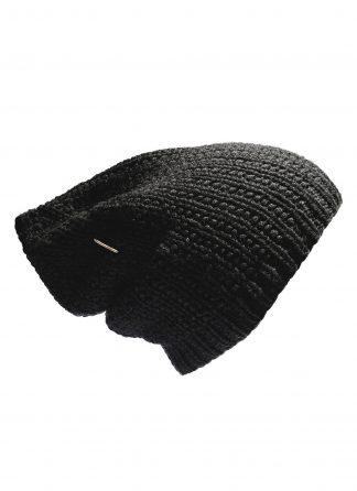 werkstatt munchen m8011 beanie muetze cap field trace cashmere black hide m 1