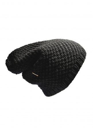 werkstatt munchen m8050 beanie muetze cap moss trace link cashmere black hide m 1