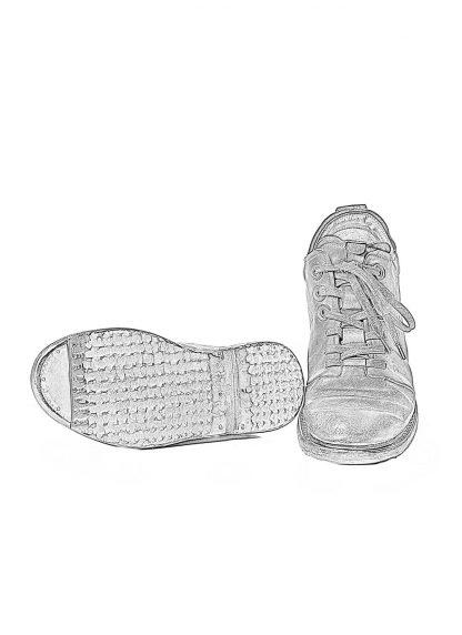 LAYER 0 Alessio Zero Men Sneaker Shoe Herren Schuh 23 01 0.5 H8 horse leather black hide m 1
