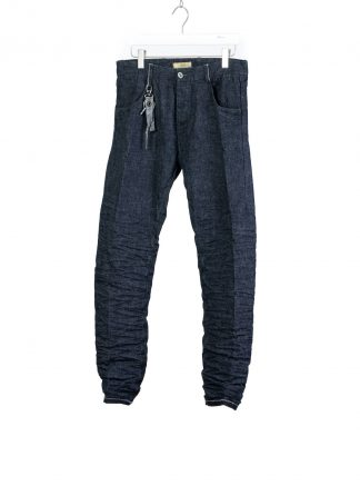 LAYER 0 Layer Zero Alessio Men 5p pants trousers hose jeans denim cotton indigo black hide m 2