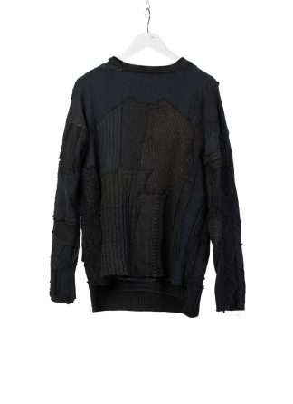 PROPOSITION CLOTHING CL 0073 Men Hand Made Sweater Herren Pullover Pulli knit wool black hide m 2