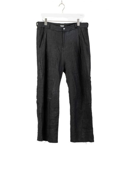 PROPOSITION CLOTHING CL 0139 Men Wide Pants Herren Hose linen black hide m 2
