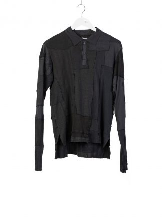 PROPOSITION CLOTHING CL 0165 Men Polo Long Sleeve Shirt Herren Pullover Pulli Sweater cotton black hide m 2