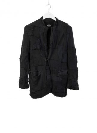 PROPOSITION CLOTHING CL 0166 Men Cardigan Jacket Herren Jacke knit wool black hide m 2