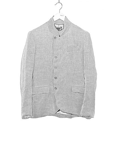 PROPOSITION CLOTHING Men 5 button jacket CL 0164 cotton linen grey hide m 1
