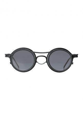 Rigards sun glasses brille eyewear sonnenbrille the viridi anne rg2001tva black clear clipon titanium silver acetate hide m 1