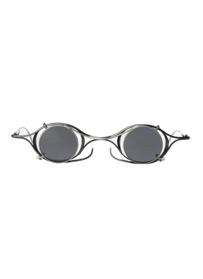 Rigards sun glasses brille eyewear sonnenbrille the viridi anne rg2002tva black clear clipon titanium copper hide m 1