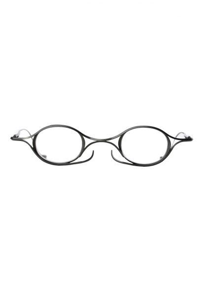 Rigards sun glasses brille eyewear sonnenbrille the viridi anne rg2002tva black clear clipon titanium copper hide m 2