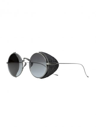 Rigards sun glasses brille eyewear sonnenbrille uma wang uw0001 stainless steel stone black hide m 2