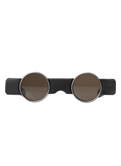 Rigards sun glasses brille eyewear sonnenbrille uma wang uw0002 blackwood black wood copper hide m 1