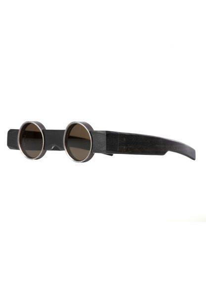 Rigards sun glasses brille eyewear sonnenbrille uma wang uw0002 blackwood black wood copper hide m 2