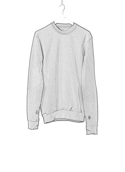 11 by boris bidjan saberi cr1c round neck sweater black f1229 01
