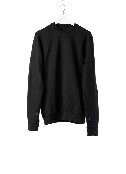 11 by boris bidjan saberi cr1c round neck sweater black f1229 02