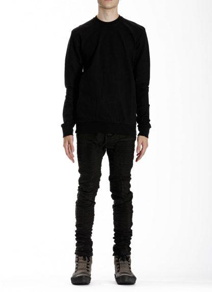11 by boris bidjan saberi cr1c round neck sweater black f1229 03