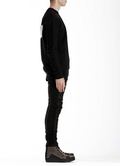 11 by boris bidjan saberi cr1c round neck sweater black f1229 04