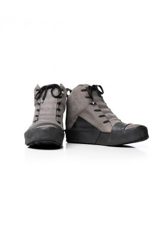 BORIS BIDJAN SABERI BBS BAMBA1 Men Sneaker Herren Schuh Exclusively Exclusive FMM20039 Veg Tan Culatta Horse Rev Leather grey hide m 2