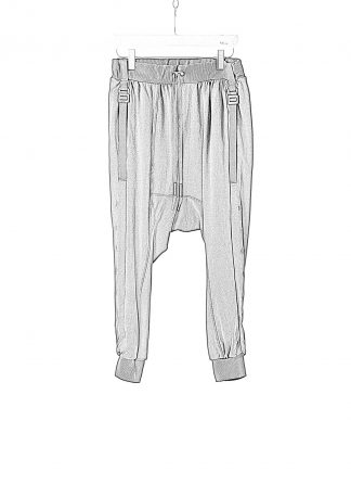 BORIS BIDJAN SABERI BBS LongJohn 2.1 Men Pants Jogger F0409C cotton elastan black hide m 1