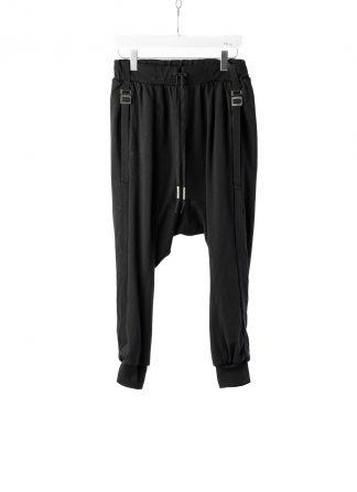 BORIS BIDJAN SABERI BBS LongJohn 2.1 Men Pants Jogger F0409C cotton elastan black hide m 2
