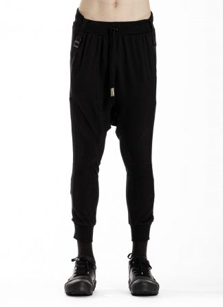 BORIS BIDJAN SABERI BBS LongJohn 2.1 Men Pants Jogger F0409C cotton elastan black hide m 3
