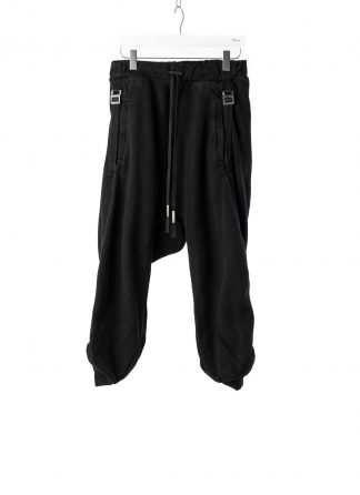 BORIS BIDJAN SABERI BBS P9 Jogger Jogging Relaxed Easy Pants Herren Hose F092 cotton black hide m 2