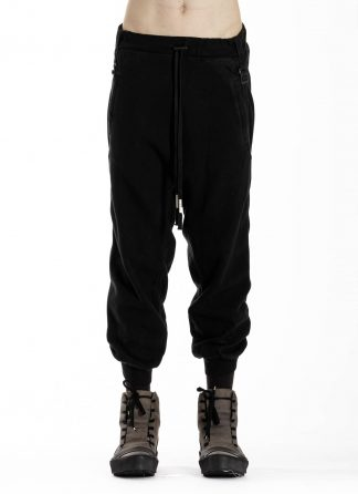 BORIS BIDJAN SABERI BBS P9 Jogger Jogging Relaxed Easy Pants Herren Hose F092 cotton black hide m 3