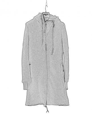 BORIS BIDJAN SABERI BBS ZIPPER3 fw20 men jacket herren jacke F0409M vergin wool cotton cashmere black hide m 1