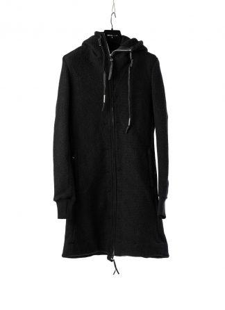 BORIS BIDJAN SABERI BBS ZIPPER3 fw20 men jacket herren jacke F0409M vergin wool cotton cashmere black hide m 2
