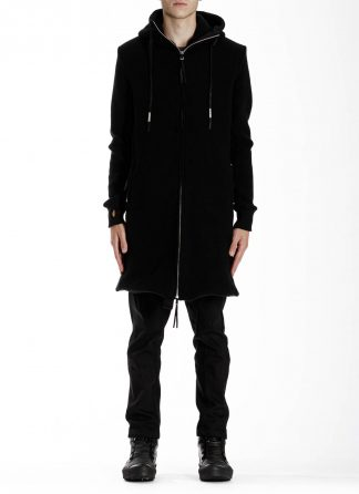 BORIS BIDJAN SABERI BBS ZIPPER3 fw20 men jacket herren jacke F0409M vergin wool cotton cashmere black hide m 4