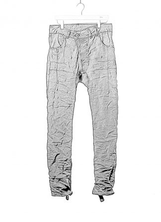 BORIS BIDJAN SABERI BBS fw20 men P13HS TF pants fully hand stitched herren jeans hose F1504K cotton elastan black hide m 1