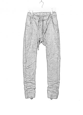 BORIS BIDJAN SABERI BBS fw20 men P14 pants semi hand stitched herren jeans hose F1504K cotton elastan dark grey hide m 1