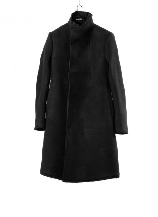 BORIS BIDJAN SABERI BBS men COAT MID herren mantel pure cashmere black hide m 2