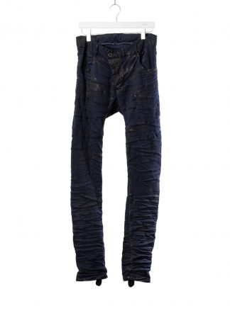 BORIS BIDJAN SABERI BBS men P13TF pants herren jeans F1939 cotton elastan dark blue hide m 2