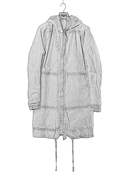 BORIS BIDJAN SABERI BBS men PADDED COAT PADDEDCOAT2 reversible herren mantel jacke F1506FW cotton synth blue hide m 1