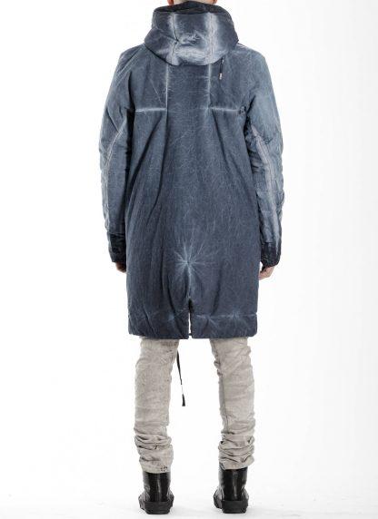 BORIS BIDJAN SABERI BBS men PADDED COAT PADDEDCOAT2 reversible herren mantel jacke F1506FW cotton synth blue hide m 13