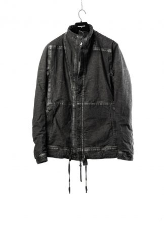 BORIS BIDJAN SABERI BBS men PADDED JACKET PADDEDJACKET1 reversible herren winter jacke F1506FW cotton dark grey hide m 2