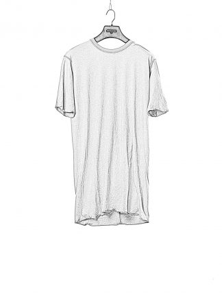 BORIS BIDJAN SABERI BBS men TS1 RF tee herren tshirt F035 cotton synth grey hide m 1