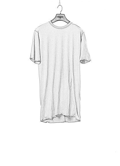 BORIS BIDJAN SABERI BBS men TS1 RF tee herren tshirt F035 cotton synth grey hide m 1