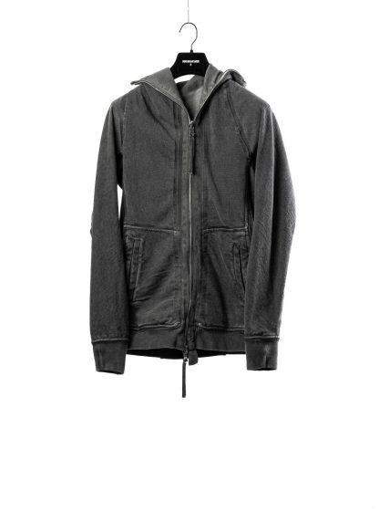 BORIS BIDJAN SABERI BBS men ZIPPER2 jacket reversible hoody hodie herren jacke FMV00014 cotton dark grey hide m 2