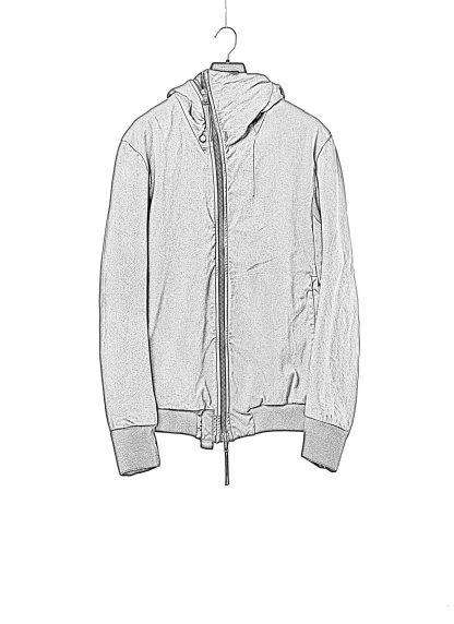 BORIS BIDJAN SABERI BBS men ZIPPER22.1 jacket herren jacke FIF10002 cotton elastan black hide m 1