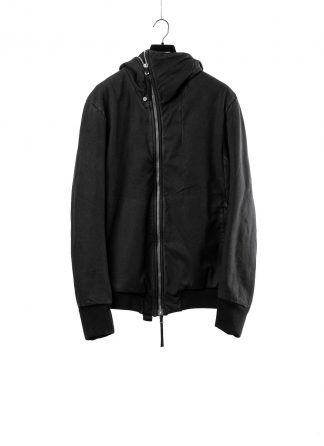 BORIS BIDJAN SABERI BBS men ZIPPER22.1 jacket herren jacke FIF10002 cotton elastan black hide m 2