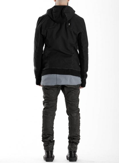 BORIS BIDJAN SABERI BBS men ZIPPER22.1 jacket herren jacke FIF10002 cotton elastan black hide m 6