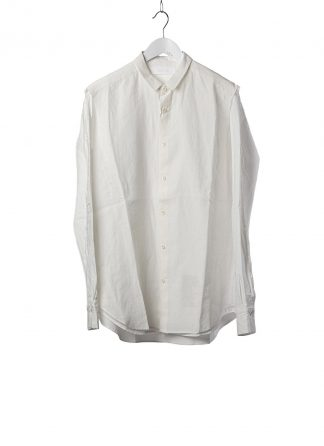 DUELLUM DUE 20AW 007 SHT men shirt herren hemd linen cotton white hide m 2