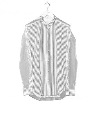 DUELLUM DUE 20AW 008 SHT men shirt herren hemd cotton stripes white hide m 1