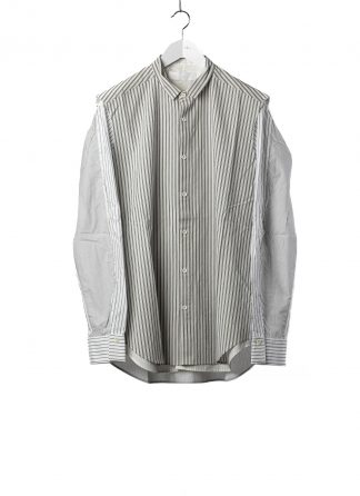 DUELLUM DUE 20AW 008 SHT men shirt herren hemd cotton stripes white hide m 2