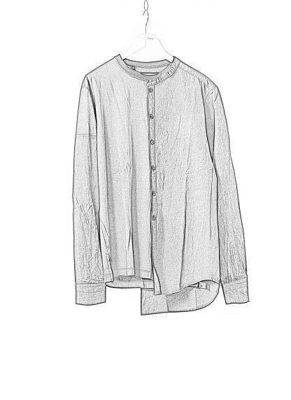 DUELLUM DUE 20AW 009 SHT men shirt long sleeve tee herren hemd tshirt cotton black hide m 1