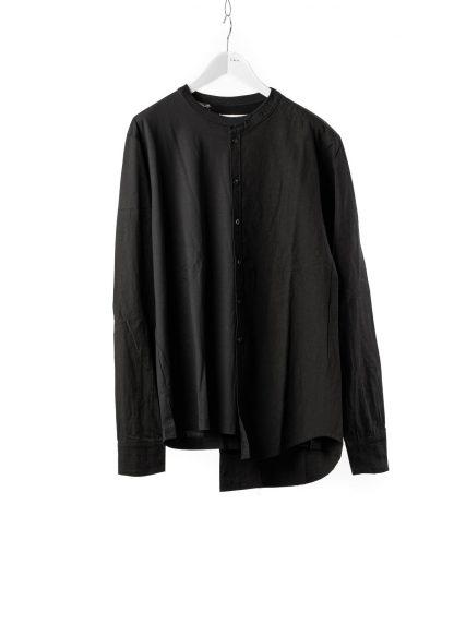 DUELLUM DUE 20AW 009 SHT men shirt long sleeve tee herren hemd tshirt cotton black hide m 2