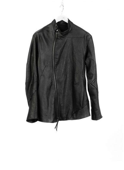 LEON EMANUEL BLANCK men distortion fencing jacket fully lined DIS M FJ 01 herren jacke soft horse leather black hide m 2