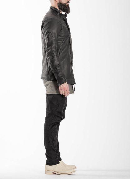LEON EMANUEL BLANCK men distortion fencing jacket fully lined DIS M FJ 01 herren jacke soft horse leather black hide m 5